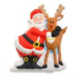 Christmas Magnetic Sound Clip (Santa and Deer)