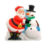 Christmas Magnetic Sound Clip (Santa and Snowman)